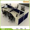 Norme pour quatre personnes du poste de travail BIFMA de bureau d'Ethospace (OMNI-ETHO-0k)