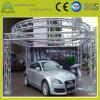 Liga de alumínio no exterior do círculo quadrado Truss para exposições de Automóveis