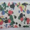 パッケージの装飾Hw-532のための花のきらめきPUの革