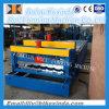 1100 máquina de formação de rolos de mosaico de etapa do tejadilho