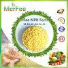 Alto fertilizante verde del nitrógeno NPK 15-15-15 para la cosecha