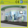 Systeem van de Bundel van de Ladder van de Driehoek van de Spon van de Cabine van de Tentoonstelling van de Handelsbeurs het Gebruikte Vierkante Enige