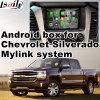 Interfaz video de la navegación androide del GPS para el sistema del GM Mylink de Chevrolet Silverado Colorado etc