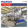 3 Co штрангя-прессовани слоя машины пленки дуя для LDPE LLDPE HDPE