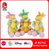 De snoezige Kleurrijke Koe van het Stuk speelgoed van Jonge geitjes vulde het Dierlijke Speelgoed van de Baby van de Pluche