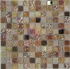 Shining Crystal Mosaic (CS074)를 가진 브라운 Color에 있는 대리석