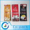 Reforço lateral de saco metalizados para embalagem de café