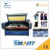 A máquina de estaca impressa do laser das telas de matéria têxtil do Sublimation com multi encontra o sistema de posicionamento
