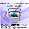 Jugador del coche DVD GPS de la ciudad de HUGO 1.8L con la pantalla táctil 7inch, PIPA para Honda (SD-6052)