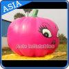 Ballon aux fruits à l'hélium gonflable à la tomate rouge à bande dessinée avec impression numérique complète