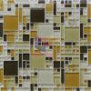 Mosaico cristalino de cristal del color de la carne (CFC292)