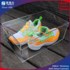 Caja de zapatos hechos a mano Transparente Acrílico con tapa