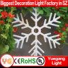Le grand motif de flocon de neige de Noël allume des lumières de l'hiver de Chaging de couleur de lumières de temps de vacances
