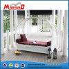 Sofá populares al aire libre baratos muebles de rattan Artificial tumbona
