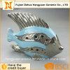 De Decoratieve Ceramische Blauwe Vissen van de tuin