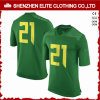 Uniformi asciutte personalizzate di vendita calde Jersey Gren (ELTFJI-71) di gioco del calcio di misura