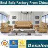 precio de fábrica Muebles de salón sofá de cuero auténtico (F089)