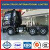 Трактор головки тележки Уилера HOWO A7 Sinotruck 420HP 6X4 10 для сбывания