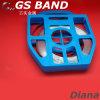 304 flexibele het Verbinden van het Roestvrij staal Smalle het Vastbinden Band voor Tekens en Ploes