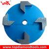 Polimento de diamantes com 4 segmentos para polimento de piso de concreto