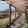 Pergola de madeira personalizado do tamanho WPC para a coluna do Gazebo do jardim