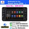 Lettore DVD dell'automobile di BACCANO di Szk-8715g 2 6.2 pollici per riproduttore video stereo di Naviradio di BACCANO dell'automobile di percorso di GPS di lettore DVD dell'automobile del Android 7.1 del gioco dell'automobile del Suzuki WiFi il doppio