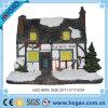 De mini Decoratie van Kerstmis van het Huis van de Nieuwsgierigheid van het Huis Polyresin