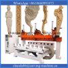 8 máquina do router da gravura do CNC de Rotary&Flat da linha central dos eixos 4