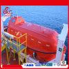 Bote de salvamento totalmente incluido do salvamento do uso do navio de carga
