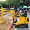 Mini macchina del gioco dell'azionamento del simulatore dell'escavatore del giocattolo dei bambini/mini escavatore dei capretti
