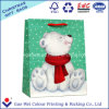 Vrolijke het Winkelen van de Zak van de Gift van de Zak van het Document van Kraftpapier van Kerstmis Witte Zak