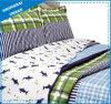 子供の寝具のイルカの主題はポリエステルCoverletセットを印刷した
