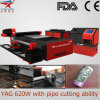 Laser Cutter di YAG per Mild Metal Cutting Industry