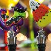 Подгонянный затвор празднества Halloween логоса для бутылки вина