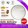 Zubehör-Qualität SARMs weißes Puder Andarine (S-4) für Bodybuilding