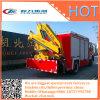 HOWO 4X2の緊急のレスキュークレーンレッカー車の消火活動のトラック