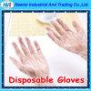 Перчатка устранимой перчатки HDPE свободно образцов пластичная для пищевой промышленности