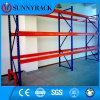 Racking de aço industrial resistente do armazenamento do armazém