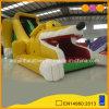 Deslize o cão inflável amarelo (AQ808)