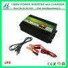 を離れてUPSの充電器及びデジタル表示装置(QW-M1000UPS)が付いている格子1000Wインバーター