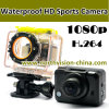 Wasserdichtes 1080P WiFi Sports Camera H. 264