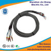 Asamblea de cable del USB con el conector de Molex