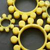 Het rubber Kussen dat van de Pruim het Elastische Stootkussen van de Buffer koppelt
