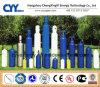 ISO9809 árgon, azoto de oxigénio industrial de dióxido de carbono sem costura de cilindros de gás de aço
