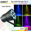 3No1 LED RGB luz PAR/LED de luz PAR