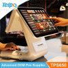 オールインワン金銭登録機機械命令の食糧ターミナル4G WiFi Bluetoothスーパーマーケットキャッシャー装置Telpo POSの製造業者はニュースの生成TPS650を卸し売りする