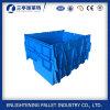 Caixa de transporte plástica da tampa do anexo do HDPE