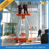 elevatore verticale elettrico dell'uomo della lega di alluminio 10m da vendere