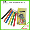 High Quality Promotional 7inch Wooden Multi-Color Pencil Set (EP-P9075)