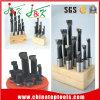 Barras de alesaje de madera del HSS del cobalto del soporte 6PCS/Set de la alta calidad 25m m